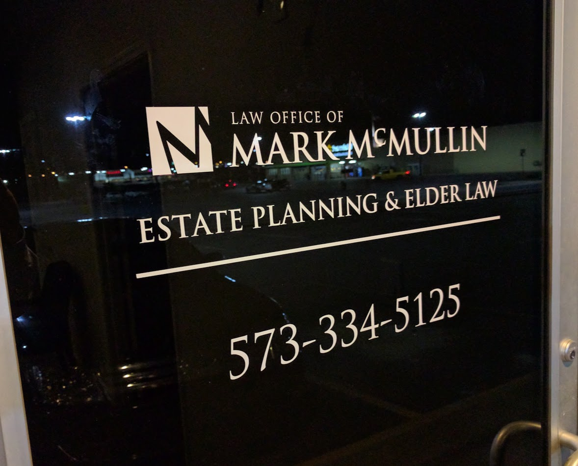 Front Door at Law Office of Mark McMullin